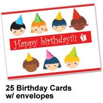 Happy Birthday Card Spread the Word TM