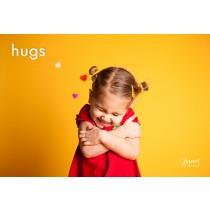 Hugs Postcards (12 per set)  Spread the Word  TM