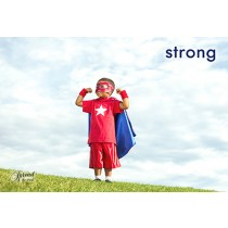 Strong Postcards (12 per set) Spread the Word  TM