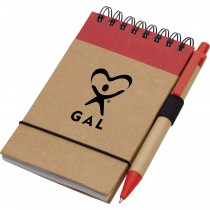GAL Pen & Recycled Notepad