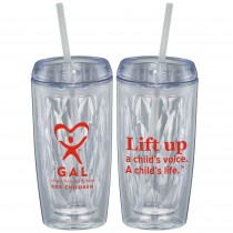 GAL Lift Up Geometric Tumbler