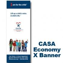 CASA Young Kids - X-Banner 63 X 24