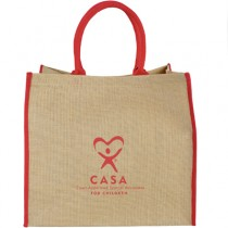 CASA Lift Up Jute Tote