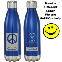 Child Abuse Awareness Concord 17 oz Vacuum Bottle