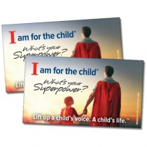 Super Hero CASA Business Card Magnet
