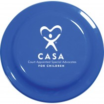 Blue Frisbee with CASA Logo  9-1/4 in