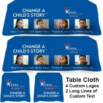 Tablecloth - Change a Child's Story™ (CASA/Guardian ad Litem/GAL)