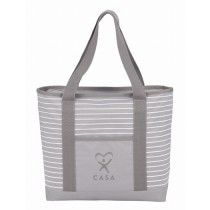 Pluto Zippered Business Tote
