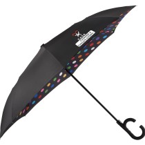 "48"" Designer Inside-Out Umbrella with a 2-color imprint"