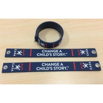Change a Child's Story - SOFT PVC SNAP BRACELET 3D