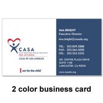 CASA Program Deluxe Card (14pt w/ PMS)