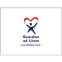 Guardian ad Litem Custom 2 color Note Card