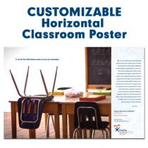Customized Horizontal Poster (CASA - Classroom)