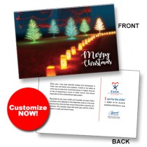 CUSTOM Perfect Holiday Lighted TreesSpread the Word TM