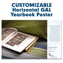 Customized Horizontal Poster (GAL - Yearbook)