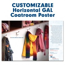 Customized Horizontal Poster (GAL - Coatroom)