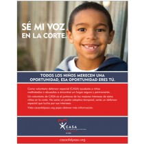 Speak up for me Flyer (Boy Toothless Grin) - English and Spanish