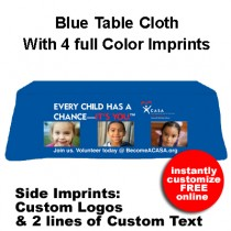 Tablecloth -  Every Child Has A Chance Slogan (CASA or GAL)