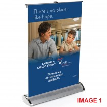 "Table Top Retractable Banner (17"" X 12"")"