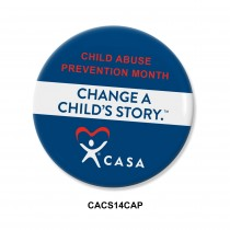 Change a Child's Story -  Button ROUND