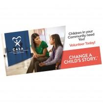 Change a Child's Story Vinyl Banner