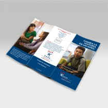 Change a Child's Story Spanish Brochure (Custom Logo, Contact & QrCode)