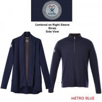 Celestial Knit Blazer/1/4 zip - 3dImpress Emblem