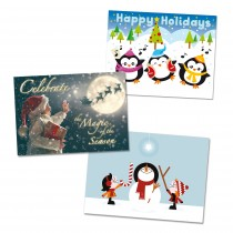 Variety Pack of Holiday Cards (25 per set) Spread the Word TM