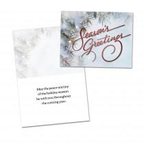 Seasons Greetings Holiday Card (25 per set) Spread the Word  TM