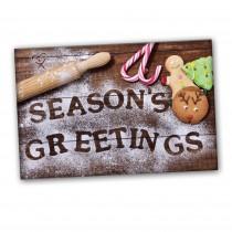 Seasons Greetings Baking Card (25 per set) Spread the Word  TM