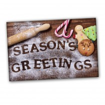 CUSTOMIZABLE Seasons Greetings Baking Spread the Word  - BOGO SALE / UP TO 500 Cards