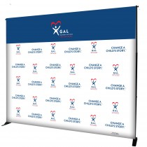 Event Step & Repeat Banner (Back Drop KIT) - GAL