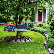 YARD SIGNS Quantity 50 (SHIPPING INCLUDED)